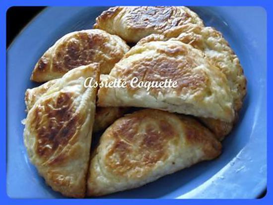 recette Chaussons Poulet et Légumes