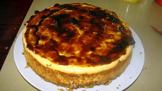 recette Cheese-cake amandes-abricot