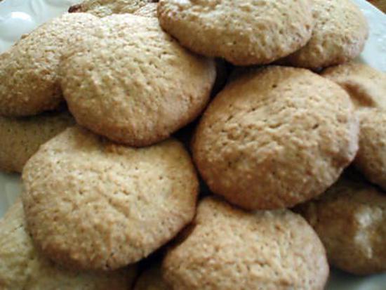 recette de cookies au chocolat blanc et noix de coco. Black Bedroom Furniture Sets. Home Design Ideas