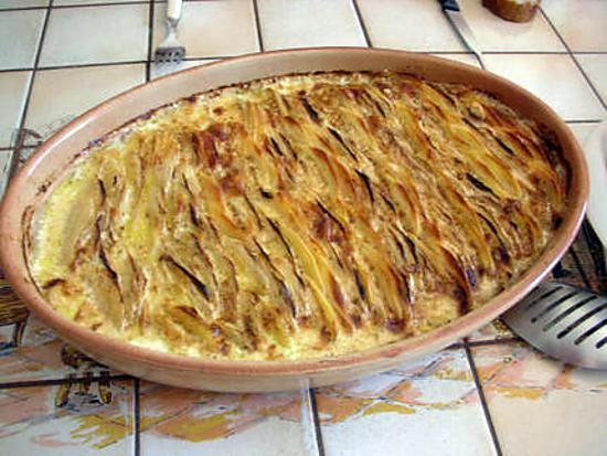 Recette de gratin parmentier au chou pomme colerave - Choux de bruxelles recette gratin ...