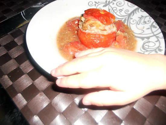 recette Tomates farcies aux 4épices