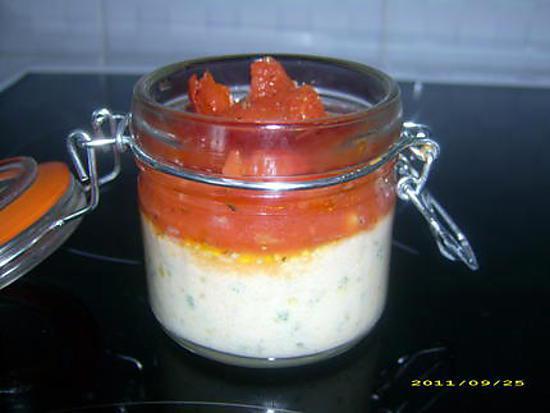 recette petit flan au persil