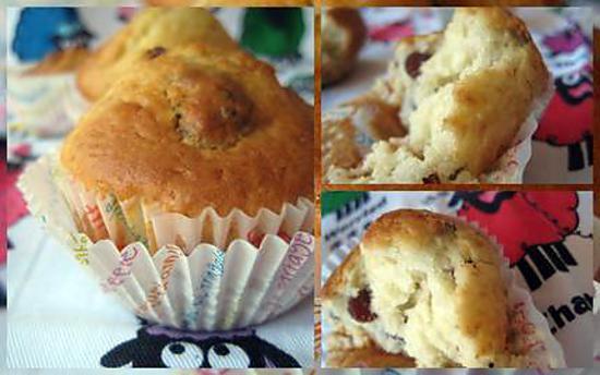 recette Muffins aux fruits secs