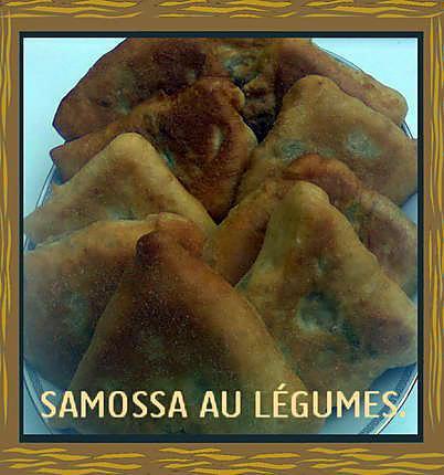 recette SAMOSSA AUX LEGUMES ET VIANDE HACHEE.