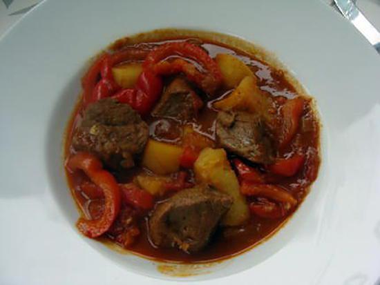 Recette de goulash austro hongroise for Cuisine hongroise