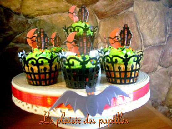 Recette de cupcakes d 39 halloween - Recette dessert halloween ...