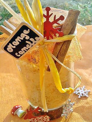 recette Sucre parfumée de noel  à l'orange et canelle