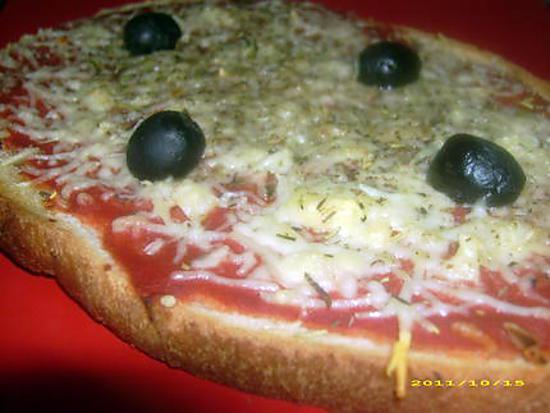 recette pizza façon bruschetta
