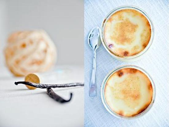 recette Crèmes à la vanille bourbon