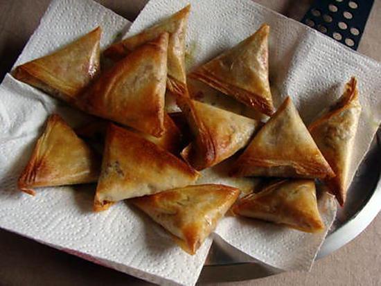 recette Samoussa au thon
