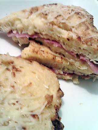 Recette de pain perdu fa on croque monsieur - Sachet cuisson croque monsieur grille pain ...