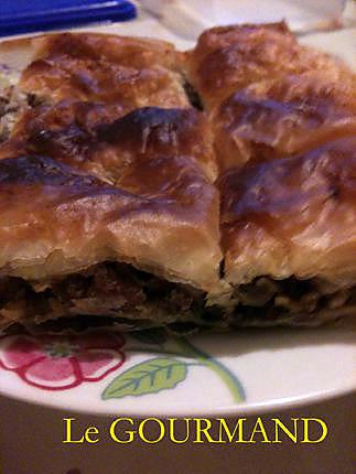 recette Baklawa à la viande hachée