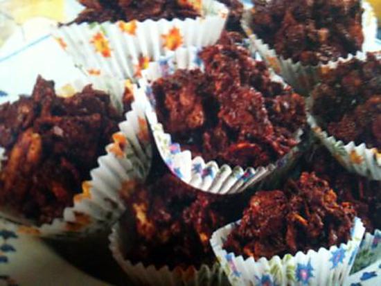 recette croquants au chocolat