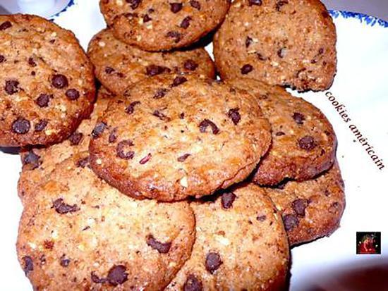 recette Cookies américain