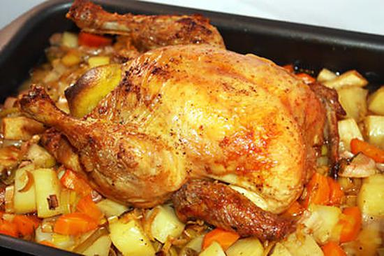 idee recette poulet roti