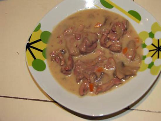 recette blanquette de dinde au rosé