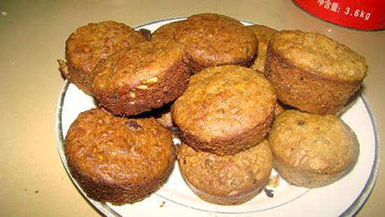 recette Muffins de santé