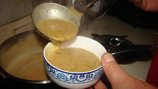 recette Soupe aux lentilles corail façon thaïe