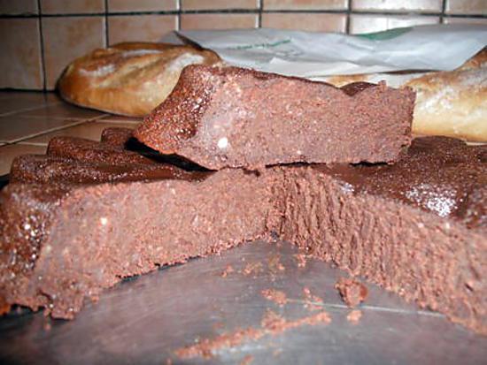 recette Fondant au chocolat à l'italienne