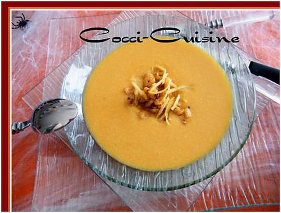 Recette de soupe de potiron aill s - Soupe potiron cocotte minute ...