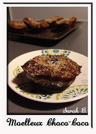 recette Moelleux chocolat-coco