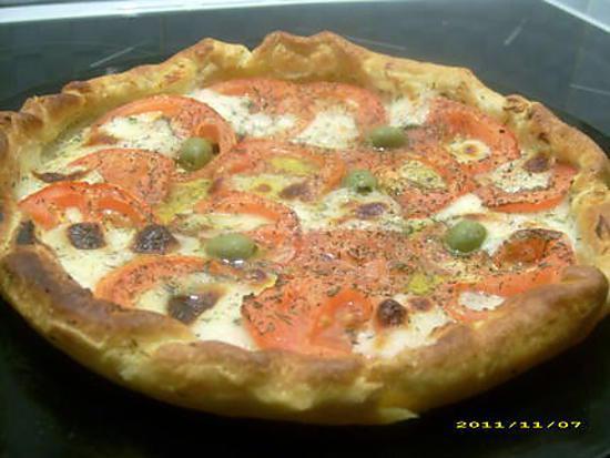 recette tarte aux saveurs d'italie