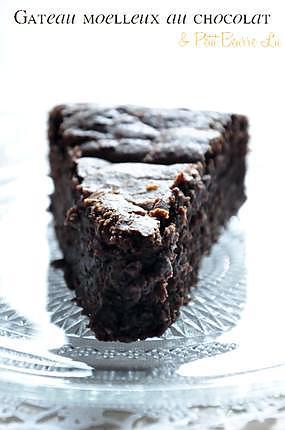 recette Moelleux au chocolat & Petit Beurre Lu