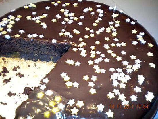 recette Mon gâteau au chocolat: