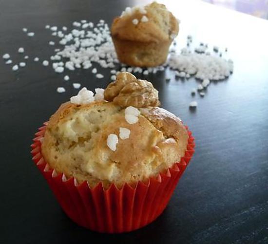 recette Ooo Muffins aux pommes ... et peu de vaisselle à faire ! ooO
