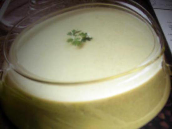 recette Vichyssoise (soupe)
