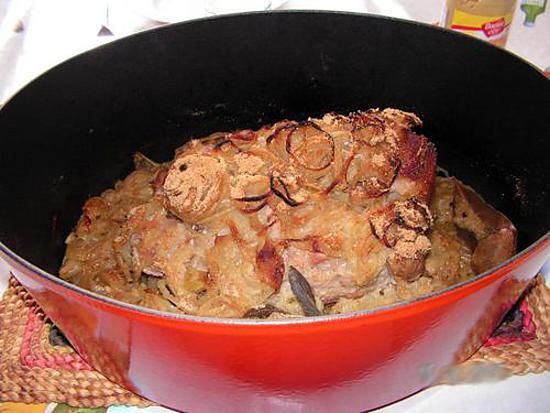 Recette De Roti De Porc Au Oignons