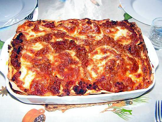 recette Lasagnes faciles