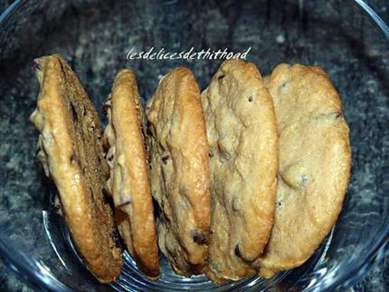 recette cookies au spéculoos et pépites de chocolat
