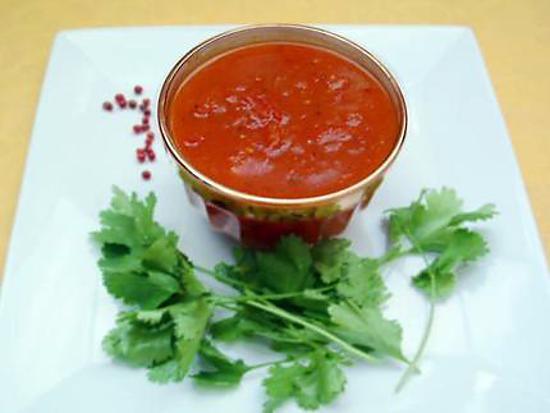 recette Chutney indienne à la tomate