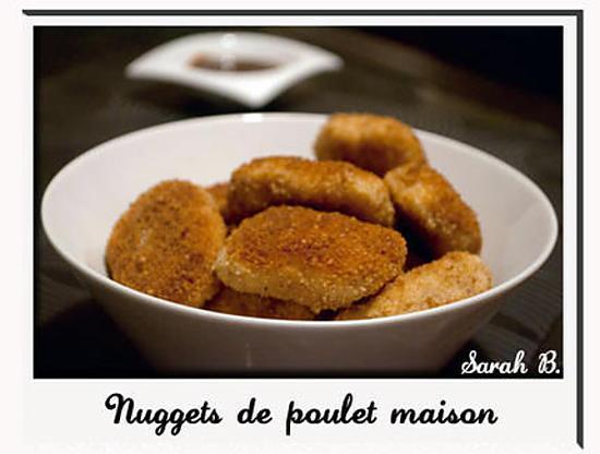 recette Nuggets au poulet maison