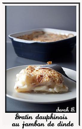 recette Gratin dauphinois au jambon de dinde