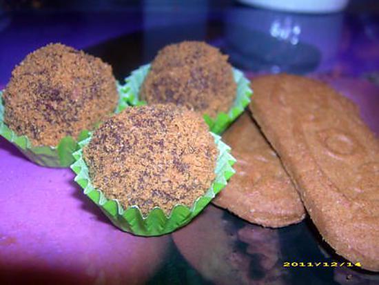 recette truffes au spéculos (noël)