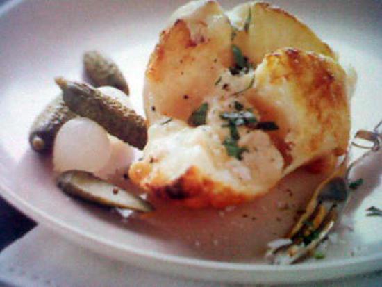 recette de pommes de terre au fromage a raclette. Black Bedroom Furniture Sets. Home Design Ideas