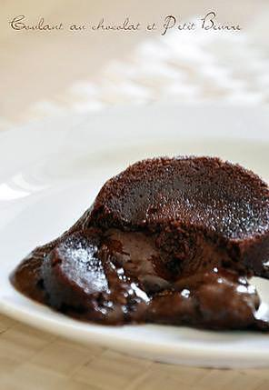 recette Coulant au chocolat & Petit Beurre