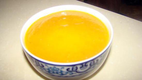 recette Soupe de carottes à la coriandre et à l'orange