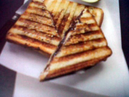 recette de croque monsieur au nutella. Black Bedroom Furniture Sets. Home Design Ideas