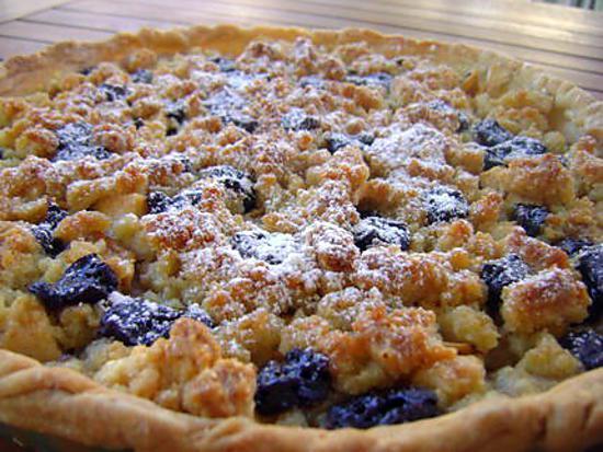 Recette de tarte aux pommes crumble et p pites de chocolat - Recette tarte aux chocolat ...