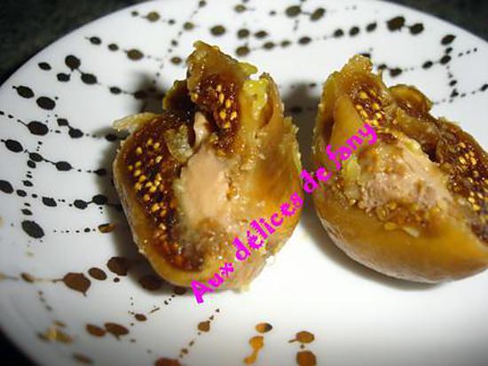 figues farcies au foie gras