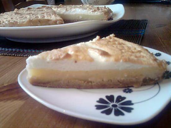 recette tarte citron meringuée