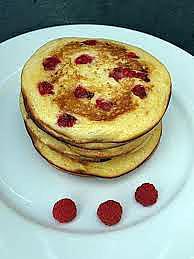 recette Pancakes aux framboises