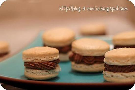 recette Macarons chocolat coco