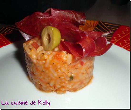 recette Risotto à l'italienne