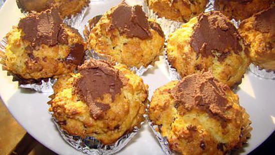 recette Muffins orange-chocolat