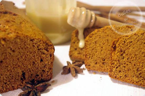 recette Pain d'épices, tout miel et sans oeufs…100 % plaisir !