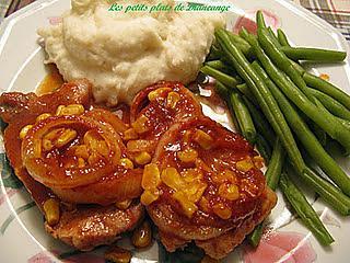 Recette de c telettes de porc la mexicaine - Comment cuisiner des cotes de sanglier ...
